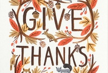 thanksgiving / by Adrienne Berg