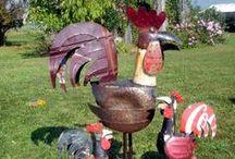 (Big Metal) Chickens / by Kathy Hoeck Henke