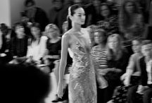 The Runway / 'Walk like you have three men walking behind you'  — Oscar De La Renta / by O B S E S S I O N S