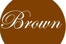 Chocolate Brown / Shades of Brown / by Diana Lincoln Kupferer