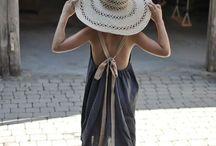 Couture filles robe jupe tunique top / by Hélène B