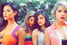 Pretty Little Liars / 'cause two can keep a secret if one of 'em is dead.. / by Apoorva N