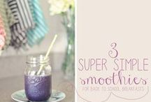 Smoothie & Shake Recipes For Kids / Smoothies are a great way to start the morning off! Here you will find: easy smoothie recipes for kids, healthy smoothie recipes for kids, smoothie recipes, fruit smoothie recipes for kids, green smoothie recipes for kids, and kids smoothie recipes! 			 / by Kayla Aimee