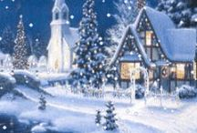 Christmas in Blue / by Diana Lincoln Kupferer