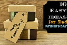 Father's Day Ideas / Everything you will need to make your father feel special on Father's Day! Here you will find: fathers day gift ideas, fathers day gifts ideas, fathers day card ideas, and diy father's day gifts!  / by Kayla Aimee