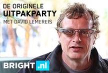 Bright Uitpakparty / De originele Uitpakparty™ met David Lemereis / by Bright.nl