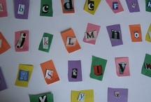 Kids - School / Alphabet Theme / by Ginny J