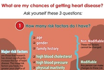 Infographics / Take some time to learn about and view different heart healthy visuals. Check out www.sistertosister.org for more infographics and information. / by The Sister to Sister Foundation
