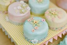 get this party started ... baked goods / cakes, cuppies and various other edible goodies / by catherine s