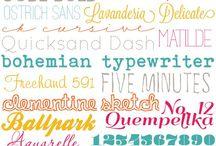 Fun Fonts / by Kirsten Zmerzlikar