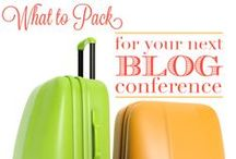 What a SITS Girl Takes to BBC! / Tips for blog conferences and travel / by The SITS Girls