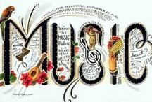 Música / La música es el corazón de la vida. Por ella habla el amor; sin ella no hay bien posible y con ella todo es hermoso. Si alguna vez pasas por aquí, esto es para ti. / by María Rodríguez Reyes