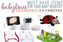 Build a Better Baby Registry / All the essentials and best baby gear for newborns and beyond! / by Cloud b