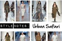 NY Fashion Week Trend: Urban Safari / Safari-inspired looks showed up on the spring/summer 2014 runways at New York Fashion Week. Start working the trend into your closet with Simply Be USA / by Simply Be USA