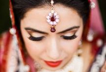Bridal Beauty Inspiration  / Wedding makeup ideas. Beauty ideas for the bride. From big lashes to bold lipstick, each of these brides looked stunning on their big day.  / by Project Wedding