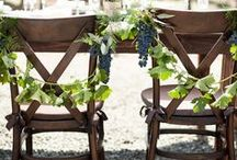 Vineyard Wedding Decor / Having a vineyard wedding? Here are some creative ways to work wine bottles, barrels, and corks into your wedding decor. Plus beautiful reception ideas! / by Project Wedding