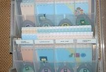 Cricut Storage / by Obsessed with Scrapbooking by Joy Tracey