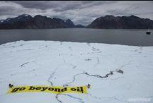 Petrolün kirli yüzü / Açgözlü petrol şirketleri için Meksika, Karadeniz veya Kuzey Kutbu fark etmiyor. Dünyanın en kârlı ve pis işini yapan bu şirketler ne derin deniz petrol aramalarının tehlikelerini ne de petrole olan bağımlılığımız devam ederse ortaya çıkacak, iklim değişikliği kaynaklı felaketleri umursuyor. Bu kârlı, pis işin tek sermayesi ise dünyamızın ta kendisi! / by Greenpeace Türkiye