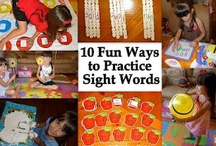 sight word work / by Molly Mitchell
