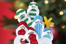 Christmas Ornament Ideas / Ornaments are keepsakes that you will treasure for life. Make sure you have some special ones that show up on your tree every year. Check out what Lillian Vernon has to offer for Christmas Ornament Ideas.  / by Lillian Vernon