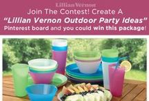 """Outdoor Party Ideas: Pin to Win! / The weather is warming up which means outdoor parties! Win an outdoor party package by entering our Pin to Win: 1) Follow Lillian Vernon on Pinterest! 2) Create a board called """"Lillian Vernon Outdoor Party Ideas""""  3) Pin your favorite outdoor party ideas - find inspiration from our ideas and website!  4) Winners will be contacted via comment on their boards on July 3! / by Lillian Vernon"""