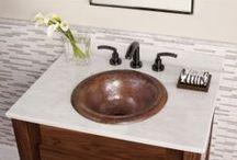 KCK Bathroom Vanity Tops & Backsplashes / by Kitchen Cabinet Kings
