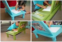 Kid Room DIY / Any DIY things for their bedrooms or play-learning area / by Amy Sey