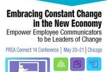 PRSA Connect 14 Conference / Today's rapidly changing business environment requires an increasingly globalized, digitized and empowered workforce. Find the latest tools and tactics to energize and organize your team at the PRSA Connect 14 Conference. / by PRSA