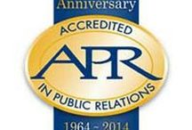 Accreditation in Public Relations (APR) / The Accreditation in Public Relations (APR) program celebrates its 50th anniversary in 2014. Like the public relations profession overall, the Accreditation program continues to earn recognition for its value and relevance to senior leaders in organizational management.  / by PRSA
