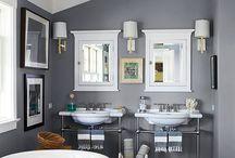 Bath / Tubs, sinks, bathroom accessories, bathroom, bath, #shower, #powder room, bath accessories  / by Melinda Dame Christensen