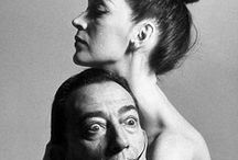 Salvador Dali and his work. / My favorite painter and artist.  / by JML