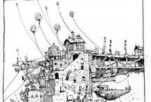 :: ESQUISSE :: / Le style des illustrations que j'aime...  / by Anne-Laure Alain