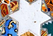ART IN PIECES / mosaic art / by Elaine Nasser ☆