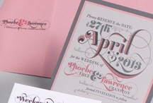 Pink & Gray Wedding - Phoebe & Lawrence / by Envelopments Inc.