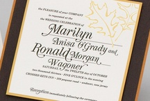 Fall Wedding - Marilyn & Ronald / by Envelopments Inc.