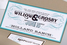 Turquoise Barn Wedding - Willow & Crosby / by Envelopments Inc.