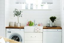 SPACES // utility / Entry ways, laundry rooms, closets and pantries. Extra rooms need the love too.  / by Jamie AnneMarie