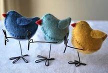 Felt Crafts / by Debi Taylor-Hough
