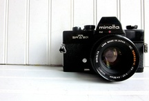 candid cameras / vintage cameras / by Kristin D