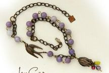 FOREVER LINKED/VICTORIAN MEADOW/SOARING SPARROW/BERMUDA COLLECTIONS / Handmade Artisan Collection. / by JonCar Jewelry