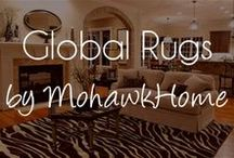 Global Rugs by Mohawk Home / Global print and animal print area rugs by Mohawk Home are made available in a range of styles. A lot of unusual animal styles can be initiated on rugs and the best part is that no animals are laid up in the making of these rugs as they are constructed of manmade materials right here in the USA. / by Mohawk Home
