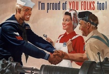 Vintage / Feeling nostalgic?  We have some vintage posters and photos that will take you back to a different time.   / by Military Spouses