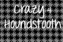 """Crazy for Houndstooth / """"Not only a favorite of mine but also one of designer's most timeless go-tos, one classic pattern continues to make major appearances in fashion and home décor year after year.  I'm referring, of course, to none other than the ever-stylish Houndstooth, otherwise known as Chevron's classy, older sister."""" ~ Hailey Green http://mohawkhomescapes.com/home-fashion-blog/crazy-for-hounstooth/ / by Mohawk Home"""