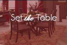 Set The Table / Set the Table with American Rug Craftsmen and Mohawk Home / by Mohawk Home