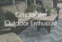 Gifts for the Outdoor Enthusiast  / Is there an outdoorsman or outdoorswoman on your gift list this season? We have complied the perfect collection of outdoor goods for that special person this year.  / by Mohawk Home