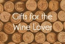 """Gifts for the Wine Lover / Gifts for the wine lover on your list. """"Wine - it should be enjoyed for the benefits of the soul - and nothing more."""" - Peter Fiduccia, Wine Lover / by Mohawk Home"""