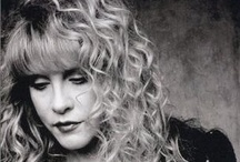 "Back to the Gypsy... / Stephanie Lynn ""Stevie"" Nicks (born May 26, 1948) is an American singer-songwriter, best known for her work with Fleetwood Mac and an extensive solo career, which collectively have produced over forty Top 50 hits and sold over 140 million albums. She has been noted for her ethereal visual style and symbolic lyrics. / by Joan Arc"