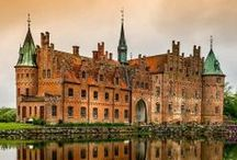 Denmark / Denmark, is a Nordic country in Northern Europe, located southwest of Sweden and south of Norway, and bordered to the south by Germany. Where many of my ancestors came from.. / by Joan Arc