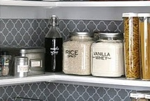 organized spaces / by Kate {cheap crafty mama}
