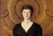 Portraits of Isabellas at the Gardner Museum / While Isabella Gardner apparently disliked being photographed, she commissioned a major portrait by John Singer Sargent and allowed other artist friends to capture her likeness in paintings and drawings. / by Gardner Museum